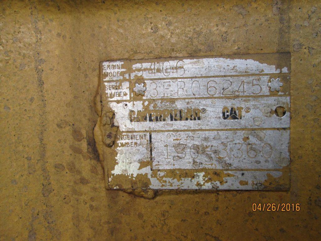 Caterpillar 3406 B